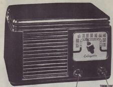 1947 LAFAYETTE MC10B RADIO SERVICE MANUAL SCHEMATIC PHOTOFACT diagram TUBE MC10Y