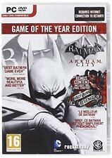 PC Batman Arkham City - Game of The Year Edition