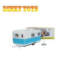 "DINKY TOYS 1/43 564 CARAVANE CARAVELAIR ""ARMAGNAC 420"" ATLAS ROAD SIGH CAR MODEl"
