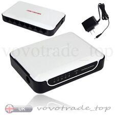 5 Port Fast Ethernet Switch LAN Network Hub Wired RJ45 Splitter Divisor de
