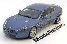 1:18 Voiture type Aston Martin Rapide 2010 bluemetallic