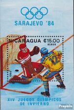 Nicaragua block153 unmounted mint / never hinged 1983 Olympics Winter Games ´84