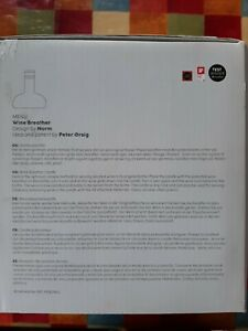 Menu - New Norm Wine Breather - Designed By Norm Architects For Menu - BNIB