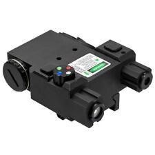 NcStar VLG4NVQRB Quick Release Multi-Color LED NAV Green Laser Combo, Black