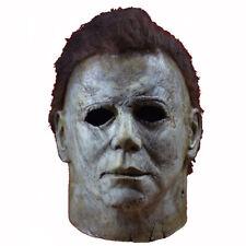 Neu Deluxe Michael Myers Maske Cosplay Halloween Party Latex Erwachsene  Maske