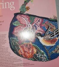 Bead Dreams Beaded Collar Basics Bird & Flower Beaded Purse Wire Figurines