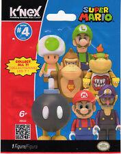 K'NEX WALUIGI Super Mario Series 4 (New In Bag) ELITE