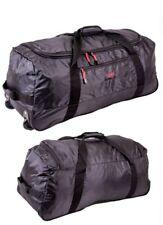 Large Wheeled Travel Bag Sports kitbag Holdall Weekend Luggage Foldable Trolley