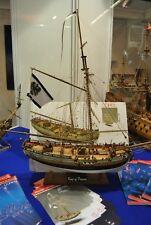 COREL SM62 BARCA Modello Nave Corsara Smugglers britannico KING of PRUSSIA 1:42