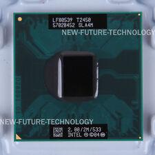 Intel Core Duo t2450 sla4m 533mhz 2/ghz 2mb Dual-Core CPU processeurs