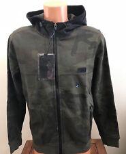 Abercrombie & Fitch Mens Hoodie Full Zip Sweatshirt Jacket Camouflage  M Medium