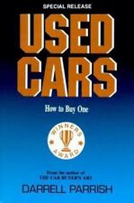 Used Cars: How to Buy One