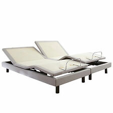 brand new split king boyd contempo vi adjustable bed wireless with massage - Split King Adjustable Bed
