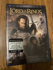 The Lord of the Rings: The Return of the King (New! Dvd, 2004, 2-Disc Set, Seald