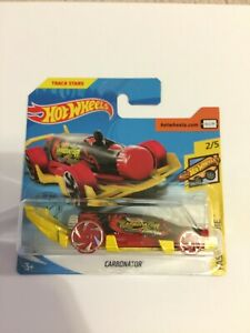 Hot Wheels Carbonator, Track Stars Fast Foodie 2020 Short Card 2/5 Brand New