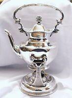 Antique Superior Silverplate Co. Quadruple Samovar Coffee Tea Water Urn 1800's