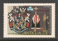 Barbuda #192 (A70) VF MNH - 1974 75c Winston Churchill Coat Of Arms