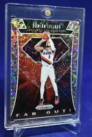 DAMIAN LILLARD PRIZM DISCO REFRACTOR FAR OUT RARE SP TRAILBLAZERS STAR