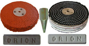 Heavy Cut Steel & Stainless Steel Polishing Kit 150mm