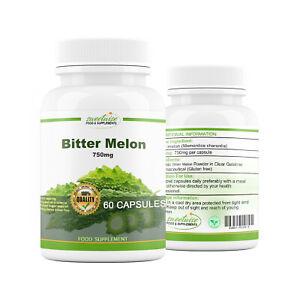 Bitter Melon Capsules 60 VEGAN Capsules High Strength Organic - SEE VIDEO