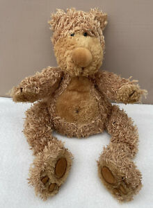 Jellycat Small Paw Paw Bear Brown Vintage Baby Soft Toy Comforter