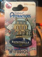 Pin Disney disneyland Paris dlrp Ratatouille Collection Attractions