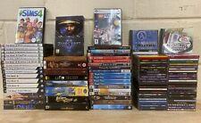88 x PC Games Job Lot - Sims Star Wars Half-Life Warcraft Tycoon StarCraft Lego