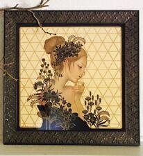 Audrey Kawasaki Maybe Tomorrow Print With Ornate Frame