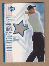 Paul Azinger 2002 UD Authentic America's Best Shirt card #PA-AB-Ex-MT-NRMT
