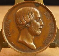 Médaille Henri de France par Gayrard Medal 勋章 Prague 1842 Bronze