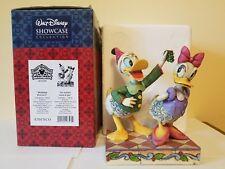 Disney Jim Shore Donald & Daisy Duck Mistletoe Moment NRFB Retired 4011039