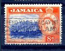 JAMAICA - 1956 - Regina Elisabetta II e rappresentazioni di campagna. E2097