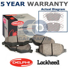 Set of Front Delphi Lockheed Brake Pads For Ford Land Rover Volvo LP1967