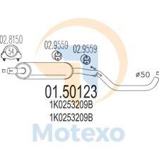 MTS 01.50123 Exhaust AUDI A3 Sportback 1.6 102bhp 09/04 - 06/08