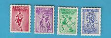 SERIE FRANCOBOLLI 1959 ALBANIA 1° SPARTACHIADI ALBANESI 507-10 MNH**