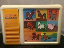 Vtg 1981 Ti Texas Instruments Touch & Tell Talking Electronic Learning Aid Toy
