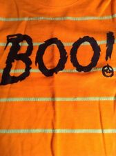 New Cat And Jack 2 Piece Halloween Boo! Pants & T-shirt Outfit Set Size 12M