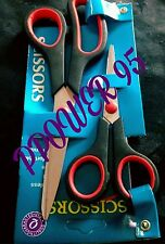 2× Stainless Steel Tailoring Scissors Dress Making  Fabric Shears