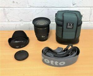 Sigma AF 20mm F/1.8 EX DG RF ASPH AF Lens For Nikon F Mount
