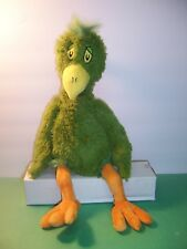KOHL'S CARES FOR KIDS - DR. SEUSS - OH SAY CAN YOU SAY - PARROT GREEN BIRD - VGC