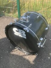 """More details for free p&p. 22"""" cb bass drum. black finish. 22x16"""" bd109077"""