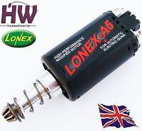 AIRSOFT AEG HIGH TORQUE DURABLE STANDARD MOTOR LONEX A5 ASG LONG MIKE4 V2