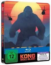 """""""KONG SKULL ISLAND"""" - Monster Fantasy Action - ltd BLU RAY STEELBOOK - neu/OVP"""