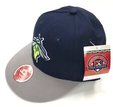 New Youth Size Columbia Fireflies Baseball Cap Strap Back Hat Nwt Minor League