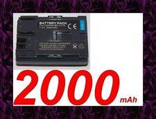 ★★★ 2000mAh BATTERIE Lithium ion ★ Pour Canon MVX3i / MVXli