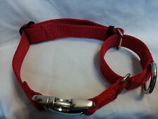 Carter Pet Supply Martingale Dog Collar METAL BUCKLES Greyhound Training Collar