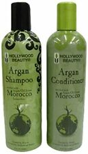 Hollywood Beauty Moroccan Argan Oil Hair Growth Shampoo and Conditioner Set