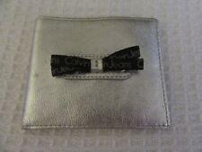 Calvin Klein Jeans Metallic silver ladies cow leather Pelle wallet REDUCED SALE*