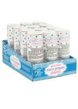 Baby Shower Gender Reveal Boy Twist Party Poppers Pk12