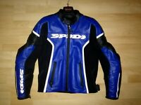 giacca in pelle Spidi GP per moto Jacket